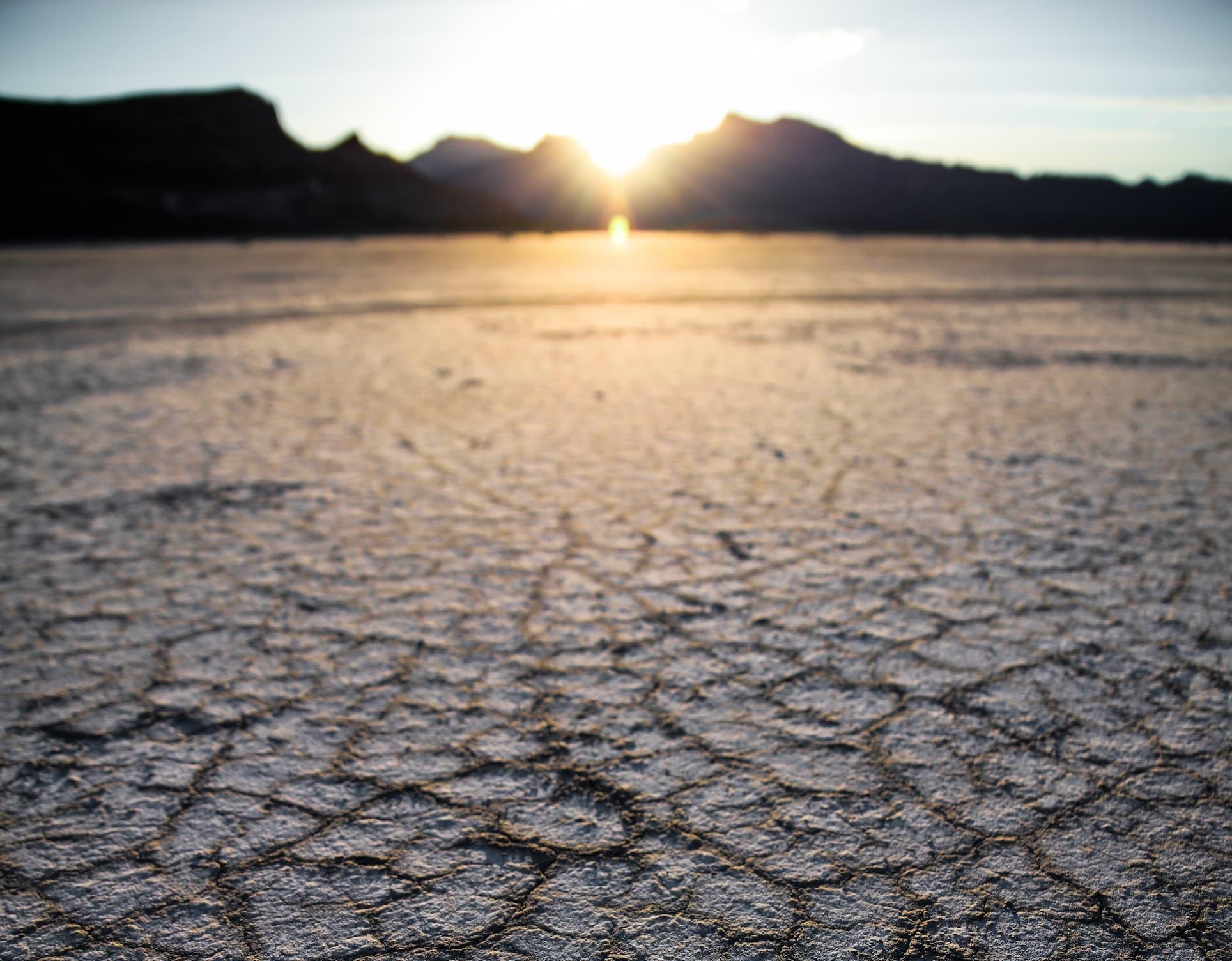 susza spowodowana zmianami klimatu