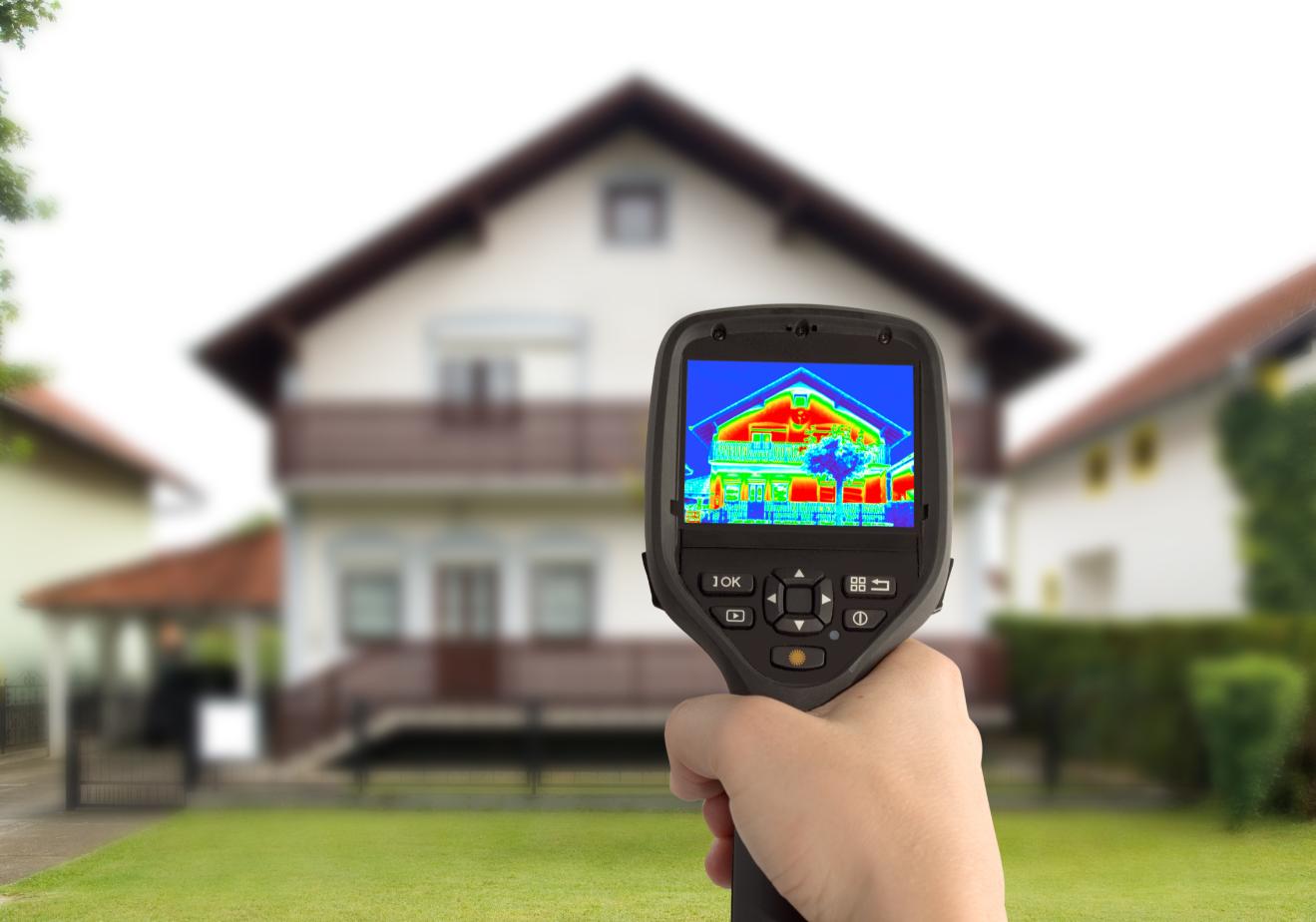 Ocieplanie domu od wewnątrz - mapa ciepła domu